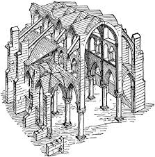 Gothic Architecture Floor Plan Mcgregor Gothic Style