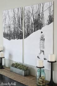 split photo wall art house by hoff