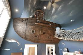 Pirate Themed Kids Room by 20 Awesome Kids U0027 Bedroom Ceilings That Innovate And Inspire