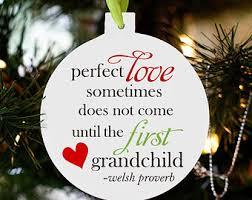 grandbaby poem grandchild ornament