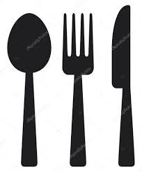 Kitchen Forks And Knives by Fork Spoon And Knife Isolated On White Background U2014 Stock Vector