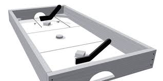 Air Hockey Table Dimensions by Early Adopter Build This Knock Hockey Table