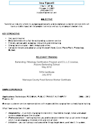 resume for a bartender resume examples free resume examples it professional sample