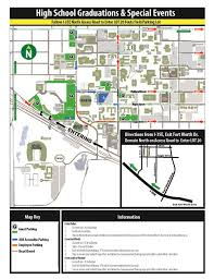 Unt Campus Map Graduation Information For Visitors