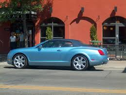 bentley silver silver lake blue bentley continental convertible 3 madwhips