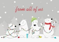 shop polar themed cards by cardsdirect