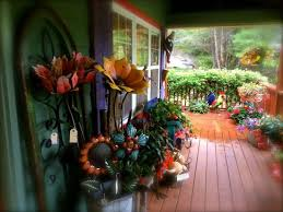 giant metal flowers to brighten up your garden picture of slick