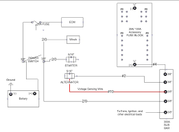 How To Wire Light Bar by Wiring Diagram How To Wire Gm Alternator Diagram Chargcircuit2