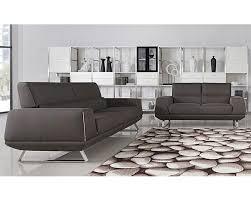 At Home Furniture Sofa Set Grey Fabric Sofa Set 44l5947