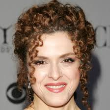 bernadette hairstyle how to bernadette peters naturally curly updo with tendrils curly
