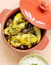 cuisine cocotte poulet citron confit et olives en cocotte pour 4 personnes