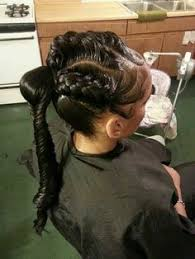 human hair ponytail with goddess braid stunningly cute ghana braids styles for 2017 goddess braids
