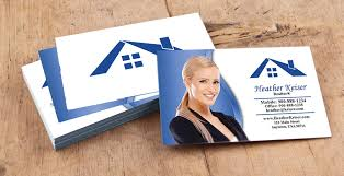 real estate business cards printing service for realtors