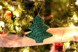diy glitter christmas ornament my crafty spot when life gets