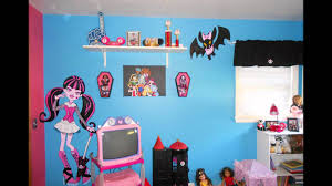 Wallpaper Borders For Bedrooms Interior Monster High Wall Decals Monster High Wallpaper For