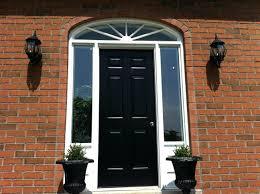image modern front door sidelights contemporary black doors uk