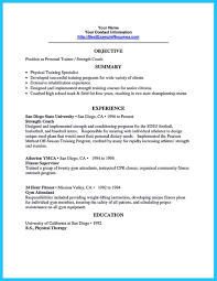 Personal Trainer Duties Resume Strength In Resume Resume For Your Job Application