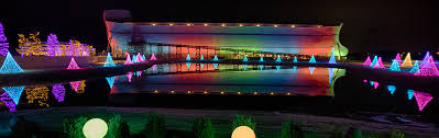 rainbow lights at the ark answers in genesis