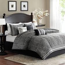 Tan And Black Comforter Sets Buy Black King Comforters From Bed Bath U0026 Beyond