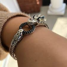 dragon bracelet jewelry images John hardy jewelry naga black sapphire dragon bracelet poshmark jpg