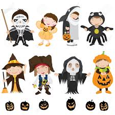 cute halloween clipart free cute halloween characters and costume royalty free cliparts