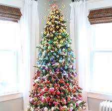 27 rainbow tree decoration ideas celebration