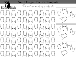 nail art design practice templates or sheets all versions