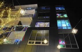 Allentown Lights In The Parkway Strata Display Has Rich Background The Morning Call