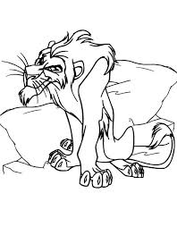 king scar coloring pages 100 images simba coloring page