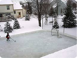 Making Ice Rink In Backyard Portable Refrigerated Rink Kits Nicerink