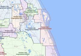 Florida Congressional District Map by Support Science