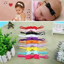 s headband baby girl infant children s headband bow ribbon hair band photo