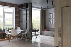 apartment themes home designs unique industrial apartment interior 5 studio