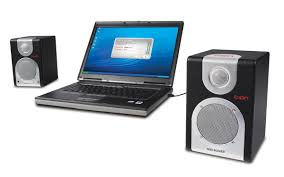 Laptop Desk With Speakers by Desk Rocker Usb Stereo Speakers Ion Audio Dedicated To