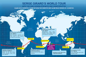 Tahiti Map World by The Route Serge Girard Around The World