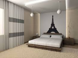 bedroom wall deco paris themed bedroom ideas black and white