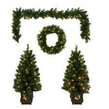 holiday living 7 5 ft fleetwood pine full artificial christmas
