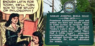 josepha hale 19th century influencer part 2