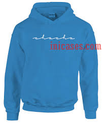 this blue hoodie on the hunt