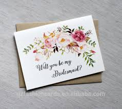 bridesmaids invitation cards will you be my bridesmaid cards bridesmaid card custom