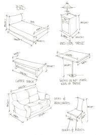 Bedroom Furniture Dimensions Bedroom Furniture Dimension Standards Sketch Coloring Page
