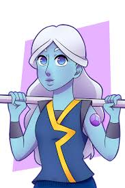blue opal gemsona capri blue gemsona art trade speedpaint by yukaonuki143 on