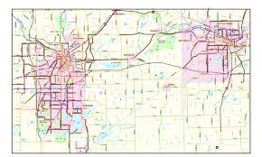 Southwest Route Map Swmpc Sw Mi Non Motorized Planning Project