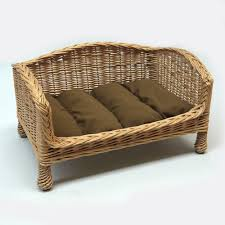 red hamper willow bed settee medium dark cushion 95 00 http
