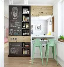 amenager un bar de cuisine bar coin repas multifonctions pour séparer cuisine et salon