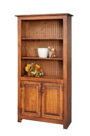 bookcase with bottom doors amish handcrafted foot bookcase with bottom doors primitive idolza