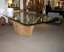 tree stump table base interesting kitchen styles about nice decoration tree dining table