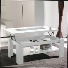 Table Basse Blanche Alinea by Diy Table Basse Plateau Relevable U2013 Phaichi Com
