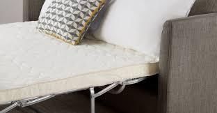 Memory Foam Mattress Sofa Bed by Milner Sofa Bed With Memory Foam Mattress Chalk Grey Made Com
