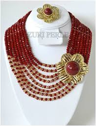 african wedding bead necklace images Nigerian beads 28 stunning pieces for weddings and special ocassions jpg